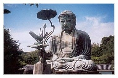 The Great Buddha in Kamakura