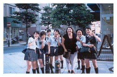 Candy & Japanese School Girls